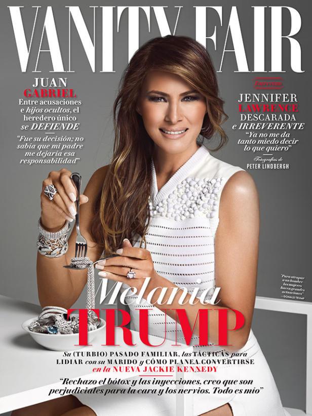 Melania Trump en Vanity Fair