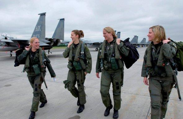 Mujeres pilotos del ejército de los Estados Unidos